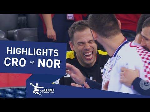 Highlights   Croatia vs Norway   Men