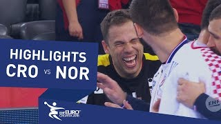 Highlights | Croatia vs Norway | Men's EHF EURO 2018