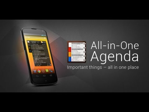 All-in-One Agenda official video