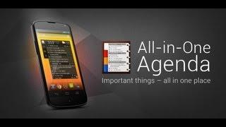 All-in-One Agenda widget