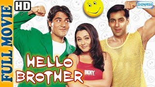 Video Hello Brother (1999) {HD} {Eng Subtitles} - Salman Khan - Rani Mukherjee  - Superhit Comedy Movie download MP3, 3GP, MP4, WEBM, AVI, FLV September 2018