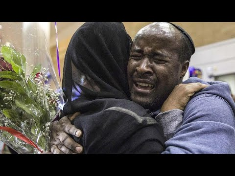 Around 300 Ethiopian Jews Reunited With Their Families In Israel