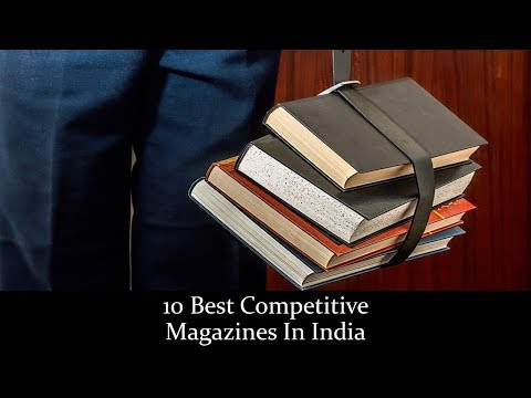 10 Best Competitive Magazines In India