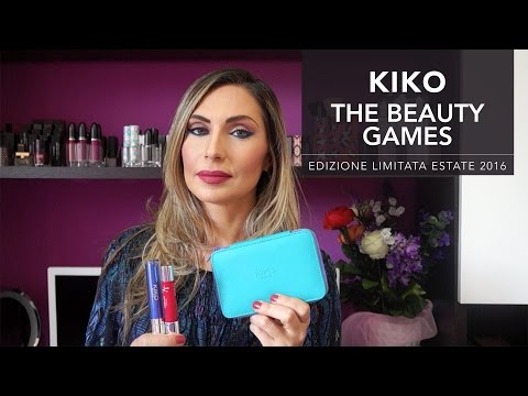 KIKO THE BEAUTY GAMES | Collezione estate 2016 (I miei acqui