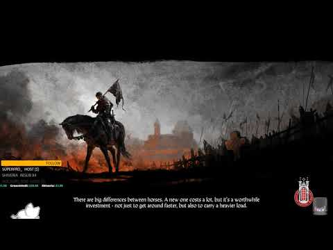 Kingdom Come: Deliverance [PC] Blind playthrough continues. ( ¬‿¬)