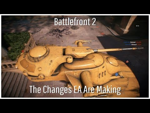 Battlefront 2 - What EA Are Changing To Address Complaints