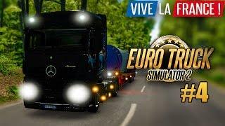 EURO TRUCK SIMULATOR 2: VIVE LA FRANCE! #4: Frankreich bei Nacht! I ETS 2 Frankreich deutsch