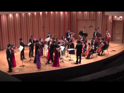 GRIEG's Two Elegiac Melodies Op. 34 - Colburn Chamber Orchestra with Maxim Eshkenazy