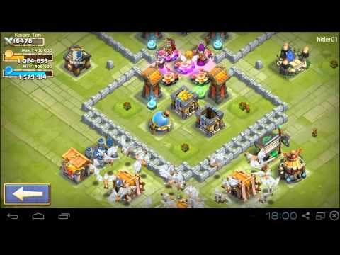 Castle Clash [HD+] Base Design Townhall 10&11 HBM ★ Schloss Konflikt