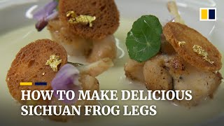 How to make delicious Sichuan frog legs