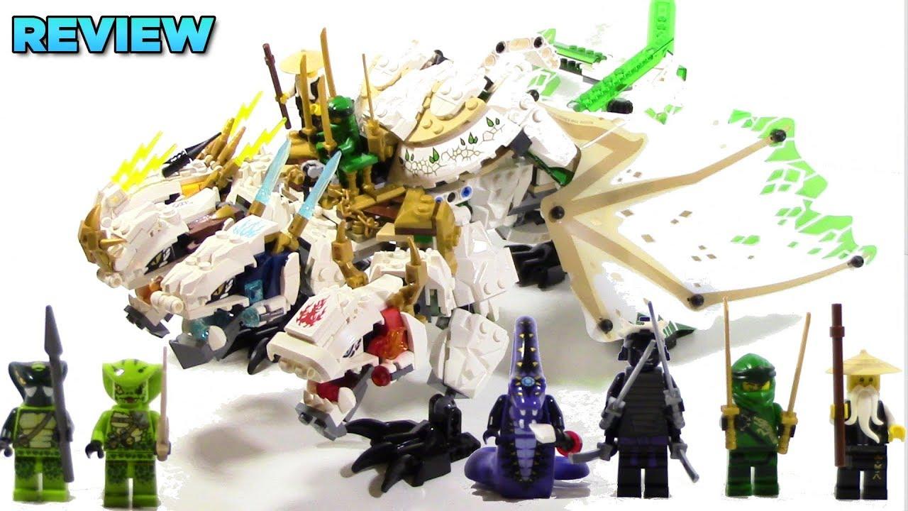 Lego Ninjago Legacy 70679 Ultra Dragon Review Youtube