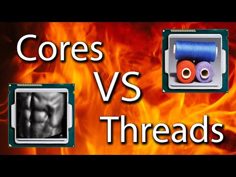 CPU Cores VS Threads - Explained