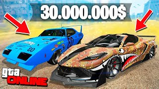 ПОТРАТИЛ 30.000.000$ НА НОВОЕ ЛЕТНЕЕ ОБНОВЛЕНИЕ В ГТА! НОВЫЕ БОЛИДЫ И ТАЧКИ В GTA 5 ONLINE