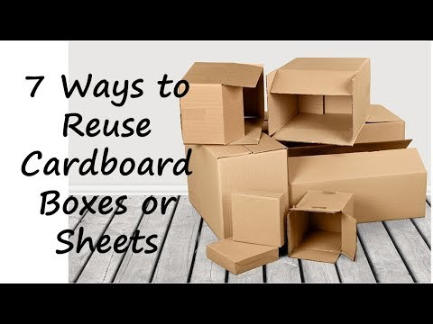 7 Amazing and creative ways to reuse or repurpose cardboard sheets or boxes   Learning Process