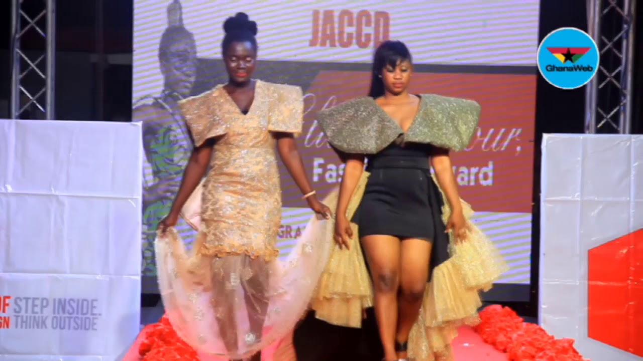 Fashion Display At Joyce Ababio College Of Creative Designs Graduation Ceremony Youtube