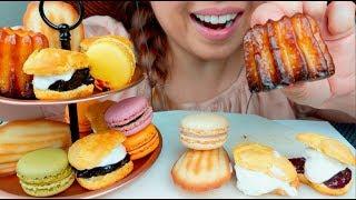 ASMR English Afternoon Tea Party 🍰☕️(FIFA SEMI FINALS ENGLAND VS CROATIA) Macarons Scones suellASMR