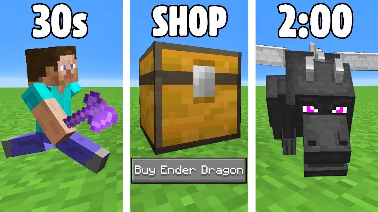 Breaking the Minecraft Speedrun Record with Mods