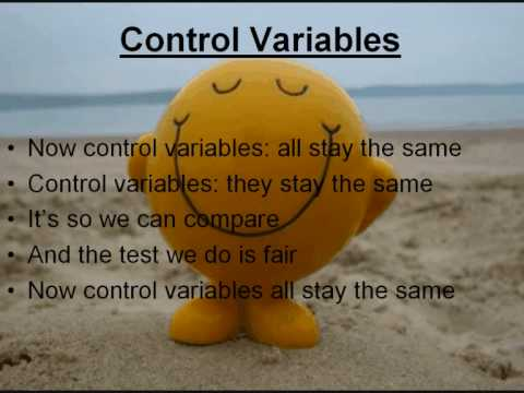 The Variables Song!