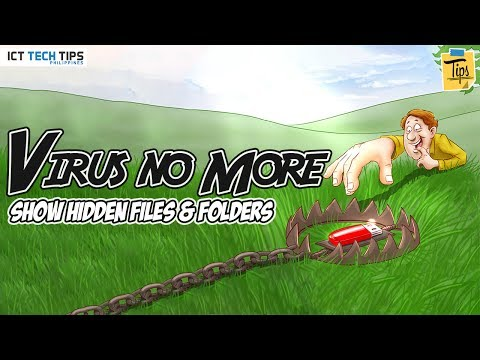 Show All Files And Folder Hidden By Virus in Windows 7, 8 & 10