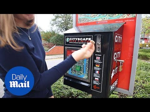 City map machine refuses to take new pound coin in Bristol - Daily Mail