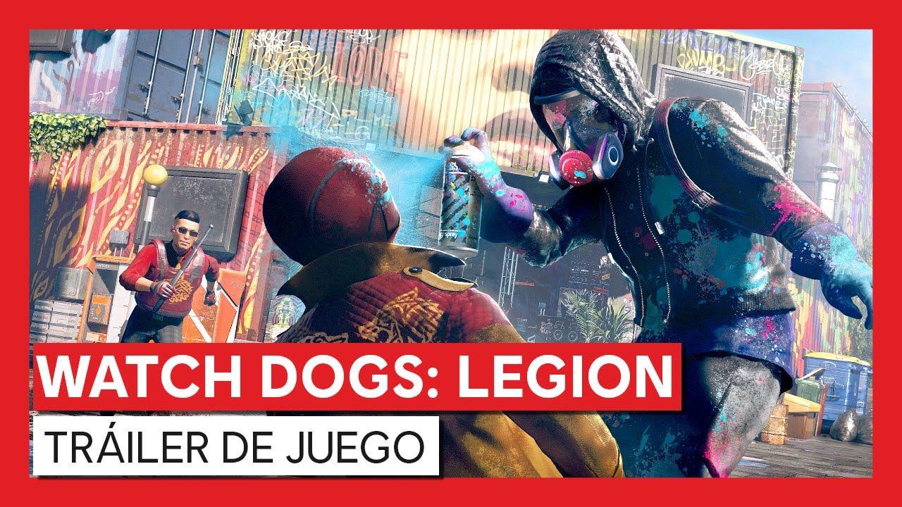 Watch Dogs: Legion - Tráiler de juego