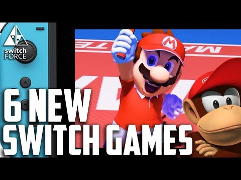 ALL 6 NEW Switch Games Announced For 2018! FULL INFO + RELEASE DATES!