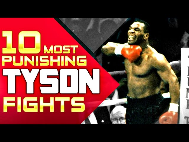 Top 10 Most PUNISHING Mike Tyson Fights