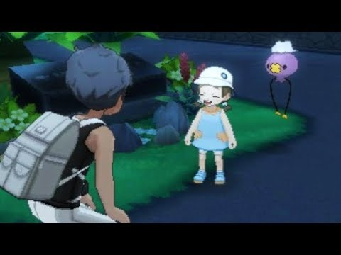 Pokemon Ultra Sun and Ultra Moon - Ghost Girl Event (Seven Mysteries)