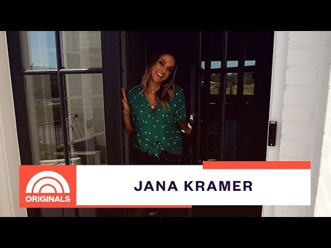 Jana Kramer Gives Exclusive Tour Of Her Nashville Home | At Home With Natalie | TODAY Original