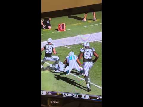 Cameron Wake MONSTER HIT on Geno Smith