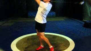 20 March 2009 - 9kg Training Throw