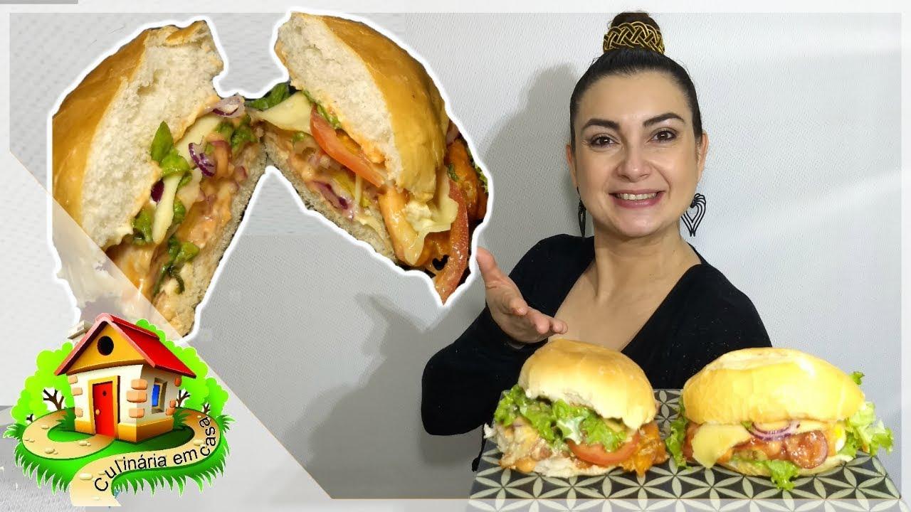 LANCHÃO DE 3 MINUTOS - Culinária em Casa - YouTube
