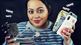 ASMR| Tapping on Cellphone Cases| iPhone X Case Collection