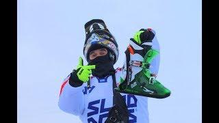 Sled Dogs! На снежных коньках прет 120 килограммовый райдер