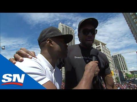 Kawhi Leonard Was Thinking NBA Championship For Raptors From The Beginning
