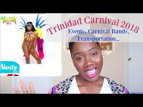 Trinidad Carnival 2018| Full Breakdown | FETES Parties | COSTUME BANDS | Mickisha 868 thumbnail