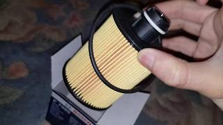 Bosch Vauxhall Insignia Oil Filter P7095 Unboxing