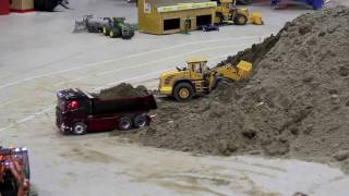 Vehicles RC ADVENTURES - radio control - FRONT LOADER - Norway show 2016