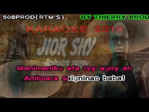 JIOR SHY        Amboara saigny karaoké 2019 by Thierry 508