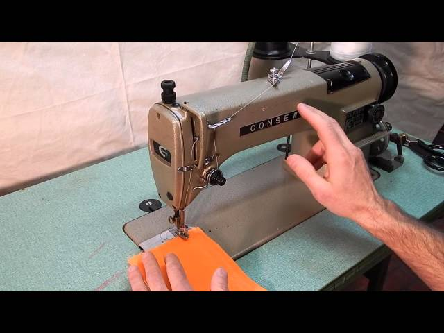 Consew 40 Industrial Sewing Machine With Reverse Made In Japan New Consew 230 Sewing Machine