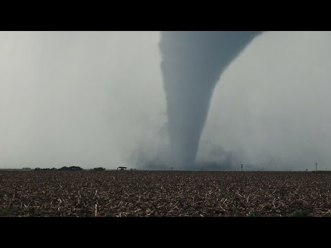 INCREDIBLE Tornado Fest in Kansas May 24, 2016