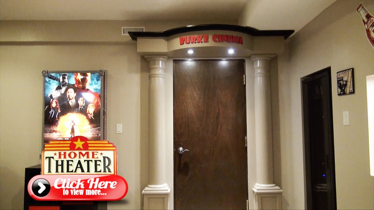 Merveilleux How To Build The Ultimate Home Theater Entrance   The Burke Home Theater  Project   YouTube