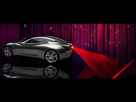 Лазерный стоп сигнал на любой автомобиль - YouTube