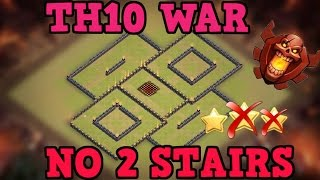 Clash of Clans | BEST TH10 War Base w/ NEW BOMB TOWER | Town Hall 10 Hybrid Base TESTED