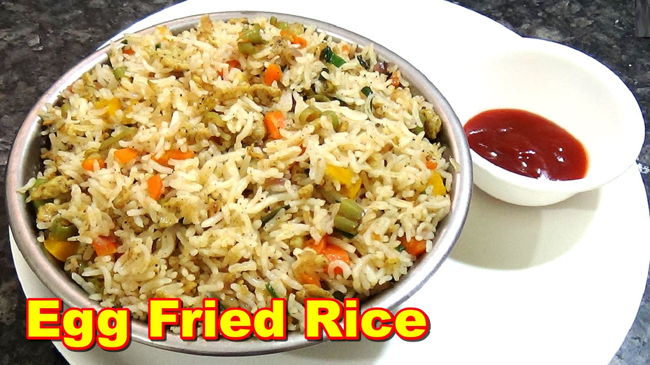 Egg fried rice recipe in tamil youtube forumfinder Images