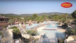Espace Aquatique du camping Yelloh! Village Les Tournels à Ramatuelle - Var - Côte d'Azur