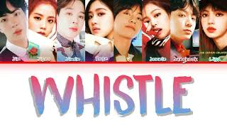 How Would BTS & BLACKPINK Sing WHISTLE BY BLACKPINK (FANMADE)