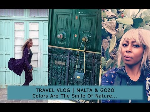 VLOG 11: TRAVEL VLOG | MALTA & GOZO - Colors Are The Smile Of Nature