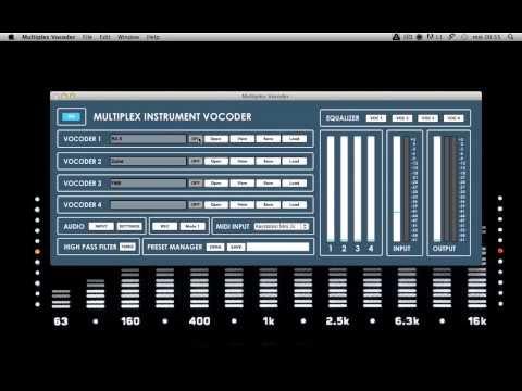 Multiplex Vocoder - A Free Vocoder VST Plugin By Audiomeals
