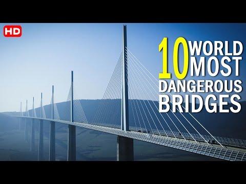 दुनियाके दस सबसे खतरनाक पूल.. [ World Most Extreme Bridges ]